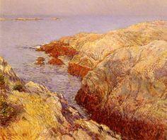 Isles Of Shoals, 1912 Hassam, Childe