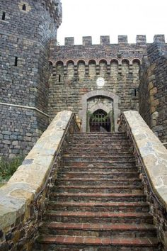 Great Photo Blog about Castello di Amorosa in Napa Valley, CA, from Atypical Type A