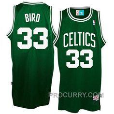 Larry Bird Boston Celtics  33 Green Hardwood Classics Throwback Swingman  Jersey 767e7dc37