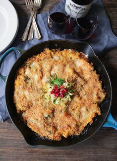 This unbelievably delicious quinoa bake celebrates fall's best flavors. The perfect cozy meal or side! #FallFest #quinoa #brusselssprouts