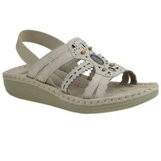 Free 2-day shipping on qualified orders over $35. Buy Earth Spirit Women's Alli Sandal at Walmart.com Earth Spirit, Walmart, Beige, Clothing, Stuff To Buy, Free, Shoes, Products, Fashion