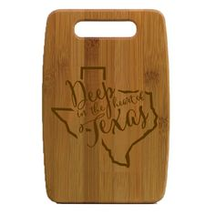 Texas Cutting Board Small, $36.95.  Use code CELEBRATE25 for 25% off!