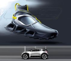 car kicks 2017 citroen aircross concept on Behance