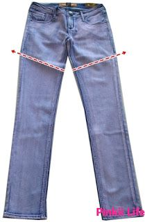 !*●♥♡Pinkii Life♡♥●*!: DIY: How to make a Short/mini short from a pair of old jeans