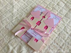 Bruna Alcântara {scrapbook artesanal}: Convite Castelo