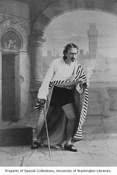 Edwin Booth in the role of Iago from a production of OTHELLO, 1875