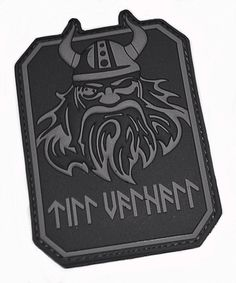 This is one of my favorites on gruntworks11b.com: Til Vahalla PVC Morale Patch, Black