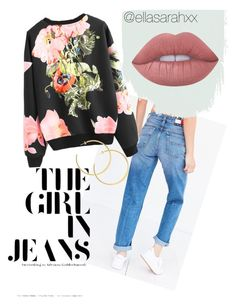 spring break by ellasarahxx on Polyvore featuring polyvore, fashion, style, Tommy Hilfiger, Lime Crime and clothing