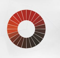 Olafur Eliasson • The yellow color circle / The red color circle / The blue color circle • The colour circle series - Part 2 • 2009 • Colour...