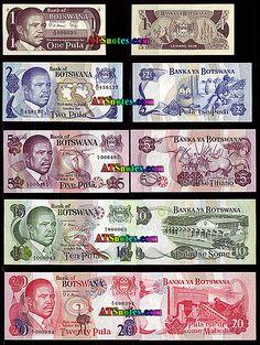 botswana currency   Botswana banknotes - Botswania paper money catalog and Botswanian ...