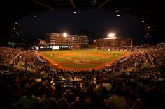 Beautiful night for a ballgame at the DBAP. #DurhamBulls