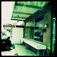 My local comic book store