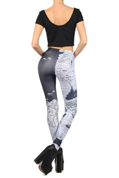 Costume: Game Of Thrones The only thing that could make these leggings better? If by wearing them and clicking your heels three times, you could reverse the red wedding.
