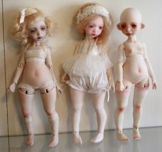 Beautiful ball jointed dolls