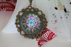 Items similar to Mandala pendant. Mandala medal with antique copper pendant and chain necklace. on Etsy Handmade Necklaces, Handmade Gifts, Bracelet Watch, Mandala, My Etsy Shop, Shops, Community, Antiques, Pendant