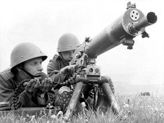 Czech soldiers Jiří Habel and Josef Neumann perform military exercises with a Schwarzlose machine gun (Těžký kulomet vz. near Prague prior to the German invasion and occupation of the. Fort Peck Dam, Margaret Bourke White, Army Uniform, Military Diorama, Military History, Armed Forces, World War Two, Troops, Wwii