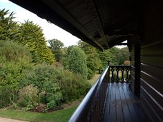 From the balcony of the Swiss Cottage.......Osborne House