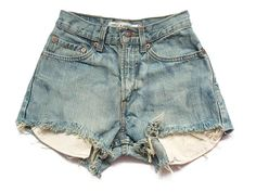 High waisted Levi cut offs XS by deathdiscolovesyou on Etsy, $45.00