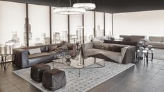 Fendi Casa Contemporary interiors by Luxury Living