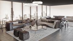 Fendi Casa Contemporary interiors by Luxury Living