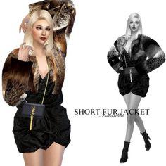 Fowardlab: Faux Fur Jacket • Sims 4 Downloads  Check more at http://sims4downloads.net/fowardlab-faux-fur-jacket/