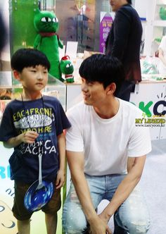at the Seoul Character Licensing Fair earlier this year - Ok Taecyeon