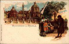 GENS - Cartoline antiche, Roma/Rome