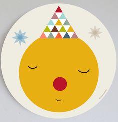 Image of Cuadros infantil Sol/Luna- sun/moon wall art