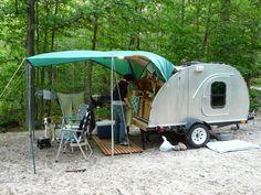 Image result for teardrop trailer kitchen