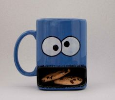 Cooookie Monster mug! so creative