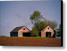 #Twin #Cribs Canvas Print / Canvas Art By Bonfire #Photography