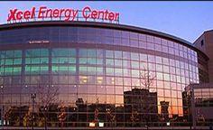 Xcel Energy Center.  Home of the Minnesota Wild