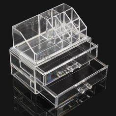 Акриловые косметическая организатор ящика чехол для хранения вставить держатель коробка, принадлежащий категории Коробки и лотки для хранения и относящийся к Для дома и сада на сайте AliExpress.com | Alibaba Group