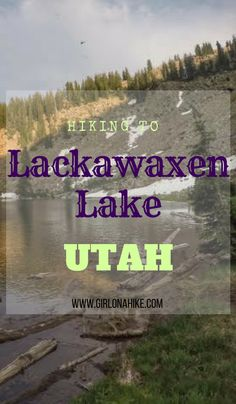 Hiking to Lackawaxen Lake