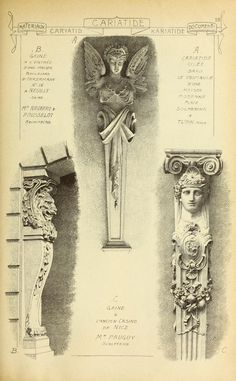 1915 - Vol. 5 - Materials & documents of architecture and sculpture :  A reissue of Matériaux et documents d'architecture et de sculpture, Paris, 1872-1914