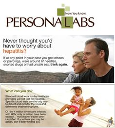 Online Blood Testing, DNA Testing, STD Testing, Blood Testing Labs & Health Tests from PERSONALABS  http://www.personalabs.com/hepatitis.php
