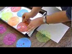 Mira cómo reciclar CDs para hacer venecitas o azulejos - YouTube
