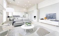 Kontion moderni hirsitalo Jyväskylän asuntomessuilla palkittiin parhaiten hoidettavana talona