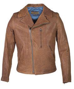 Men's Genuine Lambskin Biker Jacket