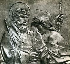 Giacomo Manzu Sculpture Ideas, Sculptures, Italian Sculptors, Human Emotions, Roman Empire, Virgin Mary, Famous Artists, Figurative Art, Artworks