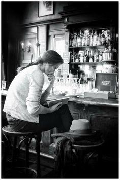 Bar scene...
