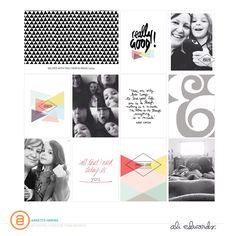 Ali Edwards   Blog: AE Digital Creative Team   Layout Inspiration