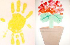 Giochi e lavoretti per bambini: colori a dita.
