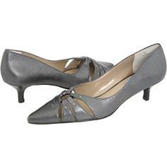 Grey Kitten Heels