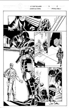 I MIEI SOGNI D'ANARCHIA - Calabria Anarchica: GI Joe Reloaded 2 Page 5  Artists: Javier Salteres...