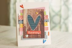 Picture 1 of 'Hooray' card by meghannandrew