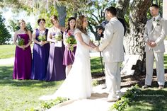 Gorgeous outdoor vintage wedding under their favourite tree at the home they built together- can it get any more romantic? Chatham Kent, Lavender Bouquet, Blue Roses, Bridesmaid Dresses, Wedding Dresses, Rose Design, Commercial Photography, Weddingideas, Big Day