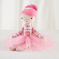 Two dolls is none too many especially if from the bunny!  Wee Wonderfuls ™ Agnes Ballerina Doll. #onegoodthread #easter