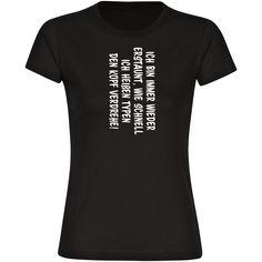 Welche Frau liebt es nicht, den Männern den Kopf zu verdrehen. Mit diesem Shirt funktioniert das ganz einfach und mit 100% Erfolg, denn schließlich sind Männer von Hause aus neugierig. #shirt #funshirt #lustig #saufen #geschenk #multifanshop