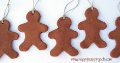 Cinnamon Dough Ornaments are a homemade Christmas must! (from Happy Hour Projects)